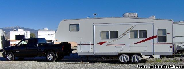 2001 Terry 27 ft. Travel Trailer / 5th wheel + Pickup - Price: $27,500.00