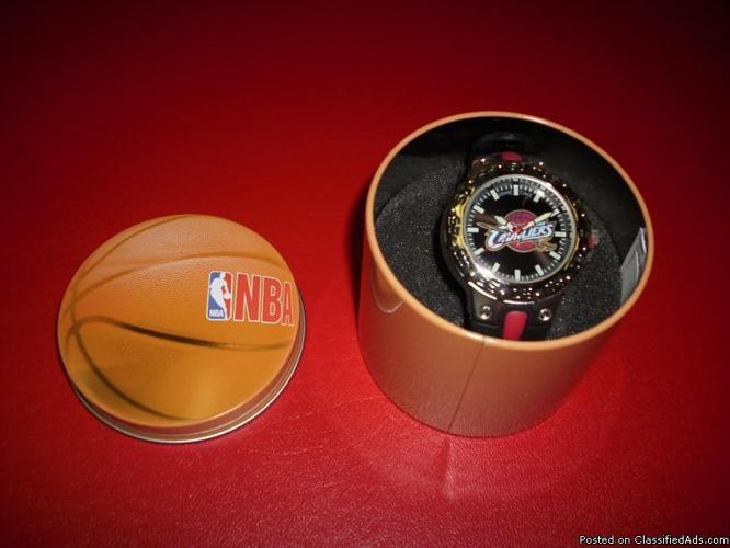 Cleveland Cavaliers Watch..Brand new in the case - Price: $20