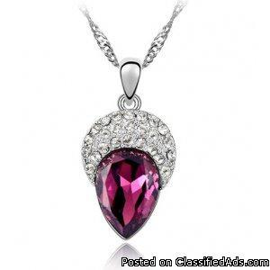Crystal beauty necklace