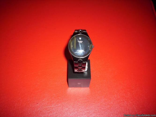 Men's Black Armitron Watch - Price: $30