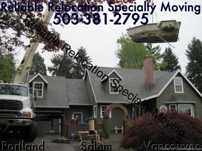 Portland HOT TUB MOVERS ----- Licensed & Insured