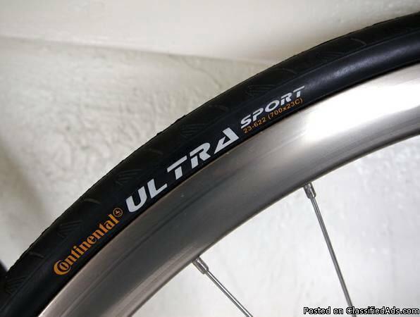 Rigida Dp-18 road bike rims and tires V racing rims