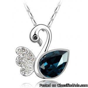 Swan Lake Crystal necklace