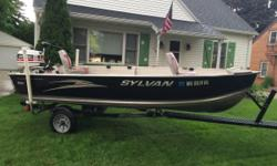 14 foot boat , motor and trailer