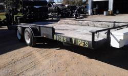 We try to beat everyone's prices on new and used tires. Call for a free quote at --. www.rickstireservice.webs.com pics are on facebook also  20 ft trailer for sale--new wood--new tires--asking price is $2500  We do