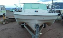 Inboard 150 hp straight 6 rebuilt needs new inner floor 2 drives jet and prop on titled galvanized. Steel Dilly Tilt boat trailer negotionable price