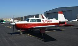 1977 Mooney M20c Ranger For Sale in Leesburg, Virginia 20175 Get ready for your next adventure in this 1977 Mooney M20c! This single engine aircraft features beautiful white and red paint that will capture the attention of any true aircraft