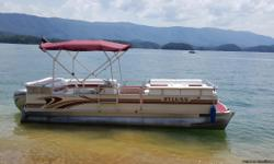 1996 Sylvan pontoon 24 foot long 2006 Honda 4 stroke engine . Great condition .Jvc radio all safety equipment. Depth finder . Power tilt and trim. New top. Solid boat . On South Holiston lake .