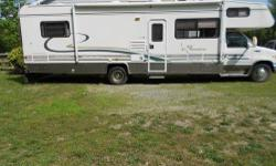 2001 COACHMEN - Model: SANTARA 316 KS Class C Motor Home PLUS Lifetime Membership with Unlimited Camping at 15 East Coast Campgrounds (will explain details) $24k Includes the Coachman Owner information Guide - MILEAGE 28,693 - Just inspected!! Sticker