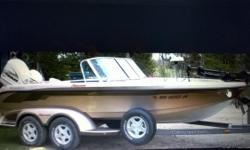 """2002 Ranger Fisherman 19'2"""" ;2001 Evinrude 150 Ficht Ram Injection, 2002 Yamaha 8 4-Stroke, Lowrance X-85 and Lowrance LCX15MT.Fish Finders, Minn Kota Maxxum Trolling Motor, Boat and Trailer in Excellent Condition. Contact for more information"""