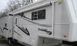 Im willing to offer a great deal off of the price shown this week to a serious buyer. 2003 36ft Holiday Rambler Presidential 5th Wheel - just dropped the price from $21,500 to $19,500 to make someone an awesome deal and help toward my new purchase .