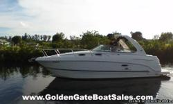 2005, 27? Chaparral 270 Signature For Sale Powered by Twin Volvo Penta 190HP SX Stern Drives Listed at Only $34,900 Just Fully Detailed & Ready to Go! FEATURES:AC, stove, microwave, water heater, battery charger, GPS, Stereo, trim tabs, remote spot