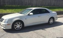 2005 Cadillac STS V6 Platinum Edition Year: 2005 Make:Cadillac Model:STS Mileage: 75,849 Trans:Automatic Color: White Diamond Vehicle Type:Sedan State:TX Drive Train:2WD Engine:3.6L V6 DOHC 24V Brand new battery (5 year) New tires Cold AC Oil Change just