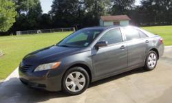2007 Dark Blue Toyota Camry LE, excellent condition, very clean, air condition, tinted windows.  40,769 miles good for college student, will sell fast!  Call (225) 235-2179