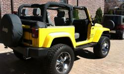 For more details or pictures please visit: www.arlisautos.com Factory Options: 1) Power Windows 2) Power Door Locks 3) Air Conditioning 4) Full Doors 5) Half Doors 6) My Gig Navigation Radio Additional Items Added: 1) Front and Rear Dana 44 Rubicon Axles