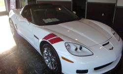 This 2010 Chevrolet Corvette GS Coupe is very very nice and same as new. With only 4577 miles this is a super low price. loaded with the 3LT Equipment Group chrome wheels, blue tooth,Grand sport Heritage package it is a must see. Give me a call to set up