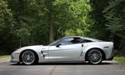 2010 ZR1 Corvetter in blade silver. The car is in excellent condition and has always been professionally serviced. Some of the additional features: -3ZR Premium Equipment Group -NAV/SAT/AM/FM with CD Player -ZR1 Chrome Aluminum Wheels -APR