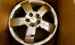 Make/Model/Year: Chevrolet HHR 2009-2011 Style: 5 Spoke Finish: Chrome Clad Size: 17x6.5 Lugs: 5 Bolt Pattern: 110mm Price for 3 wheels; 1 wheel free (cracked). $750 for 3 wheels; $250 ea. do NOT contact me with unsolicited services or offers