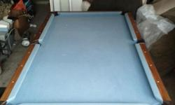 Its a full size pool table and need to sale it.BC of moving and dnt have room for it.make me an offer and its urs.please call me.if u r wanting it I nd cash in hand.that's the only way I'll get rid of my pool table.