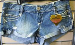 Almost Famous Daisy Dukes. Brand new, with tags.Size 13. $10 267 Kenmore Ave. 11am-7pm mon-fri 12pm-3pm sat-sun (716)783-7853