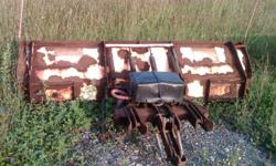 8 foot plow for sale with wings that open up to nine foot every thing works just needs paint its on a 2001 dodge ram