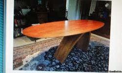 beautiful dinning room table,modern design,call david -- must sell