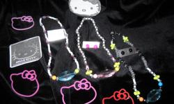 BEAUTIFUL HAND DESIGNED CHILDREN'S JEWELRY! SOME HELLO KITTY, DISNEY PRINCESS, DORA THE EXPLORER PIECES STILL AVAILABLE/BUY ONE GET ONE FREE! $5 PER SET STARTING PRICE! PLEASE CONTACT MS. JAY AT:-- FOR MORE QUESTIONS AND PICTURES! THANKS.