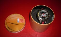 Cleveland Cavaliers quartz watch with black and red band. Watch is brand new and comes in a NBA tin. $20 267 Kenmore Ave. 11am-7pm mon-fri 12pm-3pm sat-sun (716) 783-7853