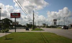 Fantastic potential in a very FAST growing area in Texas! Commercial land with 2 LARGE city lots on the corner of Hwy 36 and Moody Street. This is the LAST lot available on the east side of the highway between I-10 and Hwy 90. 1.5 Blocks from a