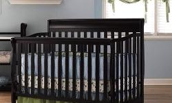 Selling a Graco Stanton 4-in-1 Convertible Crib, Espresso color. BRAN NEW NEVER USED. Still have the box. Also comes with a BRAN NEW mattress. Crib with mattress is worth over $200.00 Before TAXES. Call/ Text / Email 480-395-6670