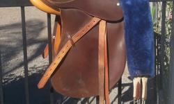Crosby dressage English saddle excellent condition very little use 550 or best offer located in Temecula Wine Country 951-210-2010