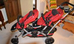 Double stroller in good condition. Seats are adjustable.