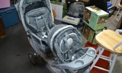 double stroller great condition. Twins have grown out of it so time to get rid of it.