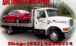 Call us at:1-847-623-3314  Visit our Website:  http://abeltowingautoservice.com/  Description: Towing, Wrecker, Roadside Assistance, Tow Truck, Towing Waukegan, Il, Jump starting ,Unlock car, Lock Out, Pop A