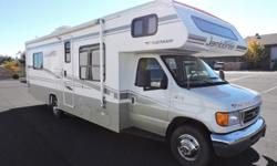 Fleetwood with 19,226 miles. It is equipped with and Onan 4K Generator with only 50 hours of use, all in very good condition.