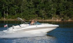 2004 Crownline Deck Boat, Crownline 240 EX, 24 Ft. This boat has been meticulously kept and has all the bells and whistles you'd want on a deck boat, including Wet Bar, Porta Potty, Dual Batteries with switch, AM/FM stereo with CD, Depth Finder,
