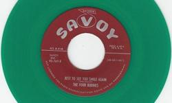 Like~Brand~New Repro That's Hard To Find ! Flip Is 'I Will Wait' On Savoy 769 !! We Have Lots Of Do Wop/R&B/Soul Records Available !!! See All My Super Nice/Rare Items Here & At http://www.bonanza.com/thedowopshop