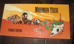 *~*  This is for Pieces of Mormon Trek Game.  Rocking Chairs 3.00 each shipping 3.00 for first one .50 cents for each one after. Game Board  4.00 and 8.00 each ... ITS ALL FROM A  SMOKE FREE HOME *~*