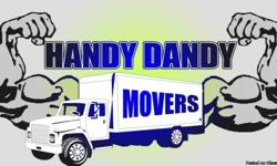 -Best Prices - (2-man crew)  -The Most Friendly Service  -Responsible Professionals  -Over 14 years of experience  -Careful and Caring  FOR A FREE QUOTE CALL (850) 299-4412 OR Log Onto Our Website: (www.handydandymoving.com)
