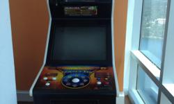 "BASICALLY BRAND NEW!!! GOLDEN TEE LIVE 2010 IN IMMACULATE CONDITION! EXCELLENT FOR LOCAL SPORTS BARS & RESTAURANTS, MANCAVE, GARAGE OR BASEMENT OR EVEN YOUR HOME GAMEROOM. IT HAS THE VOICE OF PAT SUMMERAL AND A BIG 26"" MONITOR UPRIGHT CABINET + BILL &"