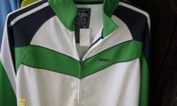 Size XL. Green and white. Brand new with tags, $25. 267 Kenmore Ave. 11am-7pm mon-fri 12pm-3pm sat-sun (716) 783-7853