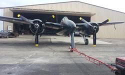ESTATE SALE; This F7F Tigercat has just completed a six year total restoration. It is one of just a handful that is still considered airworthy. Additional photos and review of the restoration inventory and log books are avaliable to a qualified buyer.