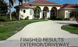 If you live in Sarsota County, and are looking for a Fresh coat of paint to spruce up your home, your searching for a reliable company to go to..... J.M. PAINTING is the company to call! We are only serving Sarasota County resident. We're looking for