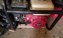 Like new honda gx 160 water pump 240 362 3906