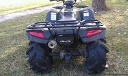 This a great ATV, runs awesome, and starts everytime. The parking brake is locked up and there is a rip in the front of the seat. Other than that it is a very sound bike. This Honda Rancher has low hours and goes anywhere. Great for hunting or just trail