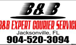 We deliver everything from a piece of Mail to Pallets of goods and more! If you need it delivered, Please give us a call (904) 520-3094! B&B EXPERT COURIER SERVICE - Licensed and Insured Call and ask for 'B' (904) 520-3094 Tell us what you want to
