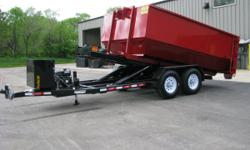 We offer a 15 yard roll off container with a small footprint that will not takeup yourwhole driveway. We offer servicesfor yard waste, dirt, rocks, concreate,remolding new construction, roofing,scrap metal(including junk cars) and