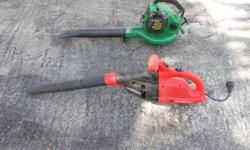 One electric and one gas powered. 25.00 each or make an offer for both.