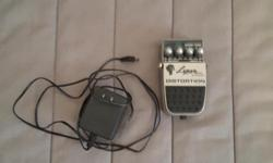 Cool distortion pedal made by Washburn