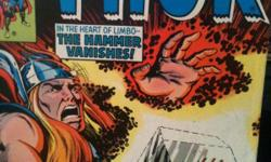 "Go back and read about the battles that created this legendary hero of the Gods. I have in very good condition with no tears or blemish Marvels original prints of ""THOR"" issues:  #276, #278, #279, #281, #283 ? 305, #307 ? 358, #360 ? 364, #366,"